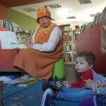 Molinukė skaito su vaikais