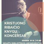 Kristijono Ribaičio koncerto plakatas