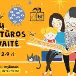 vaikų literatūros savaitės plakatas
