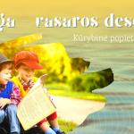 """Kūrybinė popietė vaikams """"Knyga – vasaros desertas"""""""